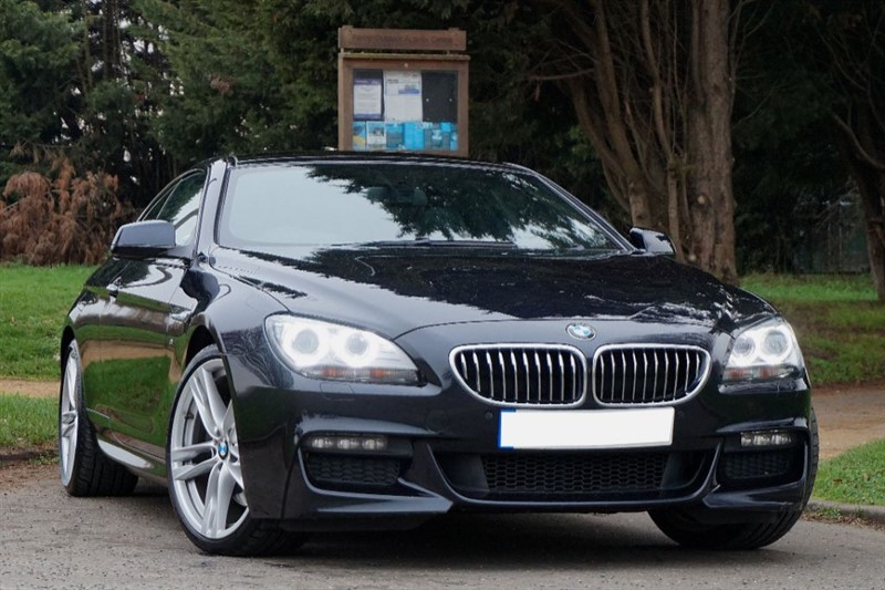 used BMW 640d M SPORT ** PAN ROOF & HEAD UP DISPLAY ** in essex