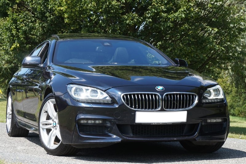used BMW 640d M SPORT GRAN COUPE ** PAN ROOF & HEAD UP DISPLAY ** BIG SPEC ** in essex