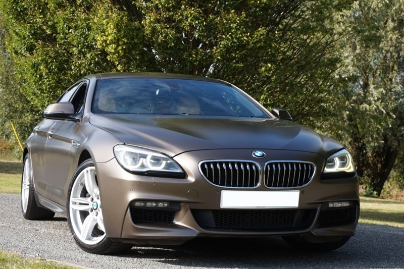 used BMW 640d M SPORT GRAN COUPE ** INDIVIDUAL IN & OUT ** in essex