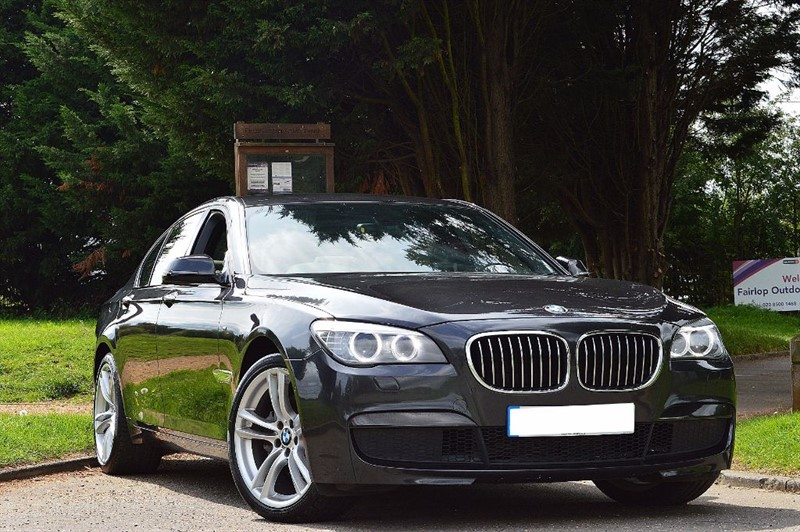 """used BMW 730d M SPORT ** SURROUND VIEW & 20"""" ALLOYS ** in essex"""