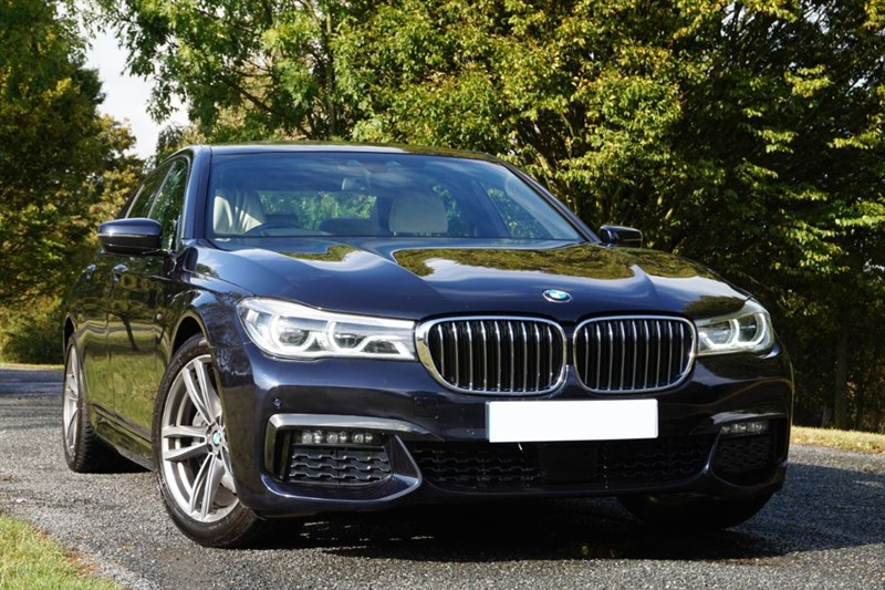 used BMW 730d M SPORT ** HEAD UP DISPLAY & SOFT CLOSE DOORS ** TOP SPEC ** in essex