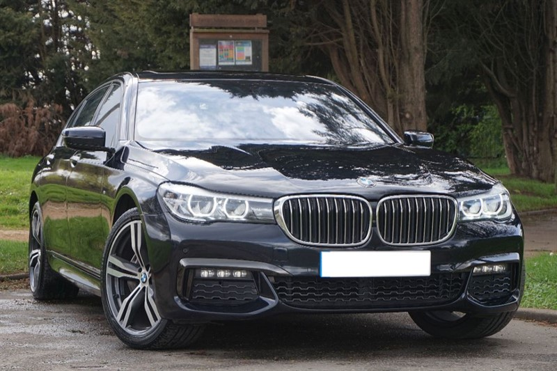 used BMW 730Ld M SPORT ** REAR ENTERTAINMENT ** MASSIVE SPECIFICATION ** in essex