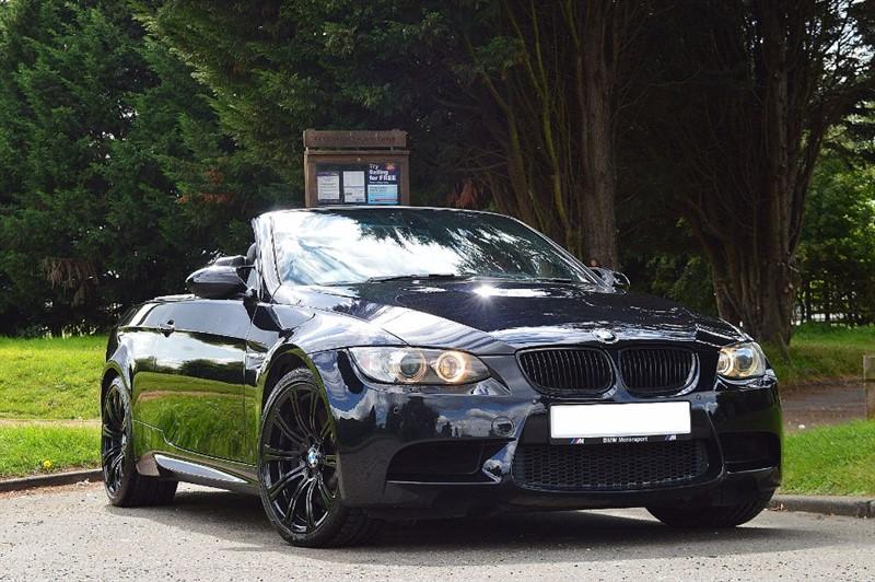used BMW M3  ** TRIPLE BLACK **  in essex