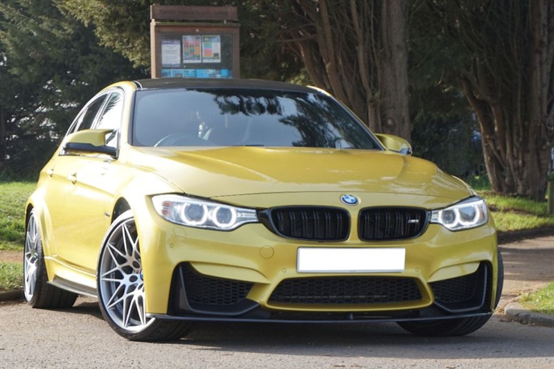 used BMW M3 COMPETITION PACKAGE ** HEAD UP & CARBON STYLING **  in essex
