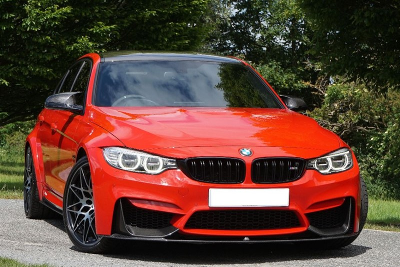 used BMW M3 ** INDIVIDUAL FERRARI RED  ** ULTIMATE SPECIFICATION ** in essex