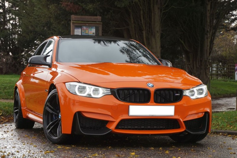 used BMW M3 ** INDIVIDUAL FIRE ORANGE ** ONLY 5,000 MILES ** in essex