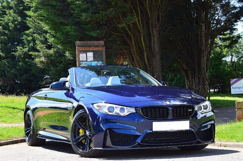used BMW M4 ** INDIVIDUAL TANSANITE BLUE ** TOTAL SPEC ** in essex