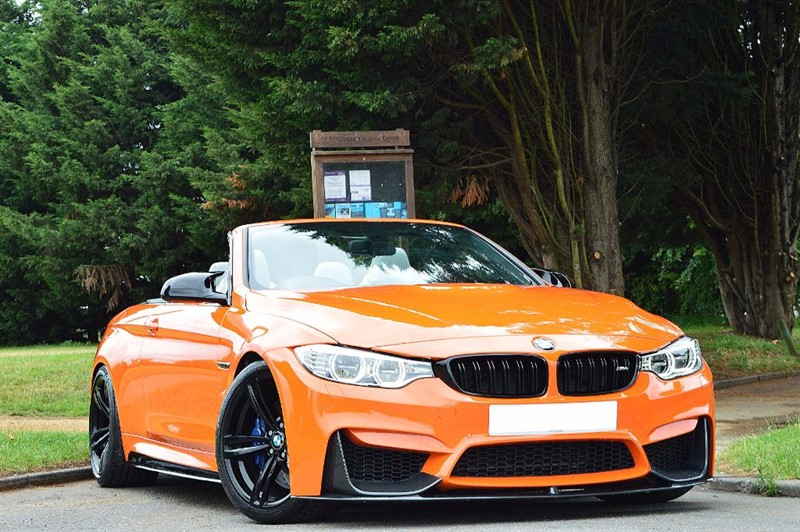 used BMW M4 ** INDIVIDUAL FIRE ORANGE ** in essex