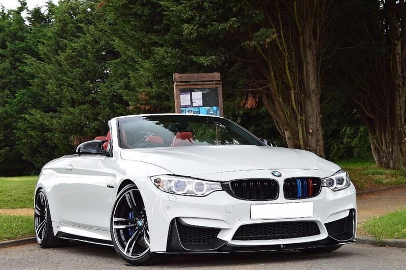 used BMW M4 ** SAKHIR ORANGE LEATHER ** TOTAL SPEC **  in essex