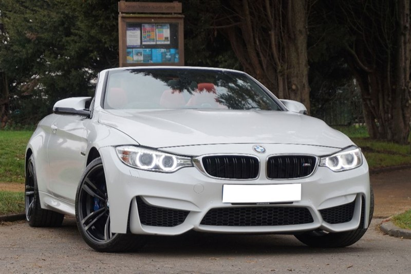 used BMW M4 ** RED LEATHER ** HEAD UP DISPLAY ** FULL SPEC ** in essex