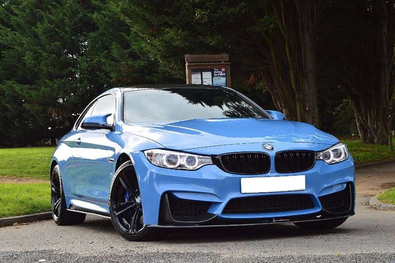 used BMW M4 ** TOTAL SPEC ** BMW SERVICE PACK ** in essex