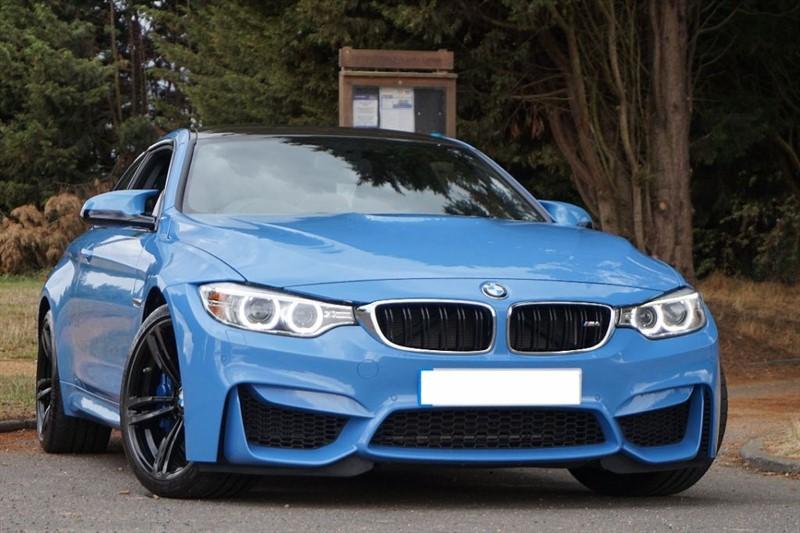 used BMW M4 HEAD UP DISPLAY & REVERSE CAMERA ** TOP SPEC ** in essex