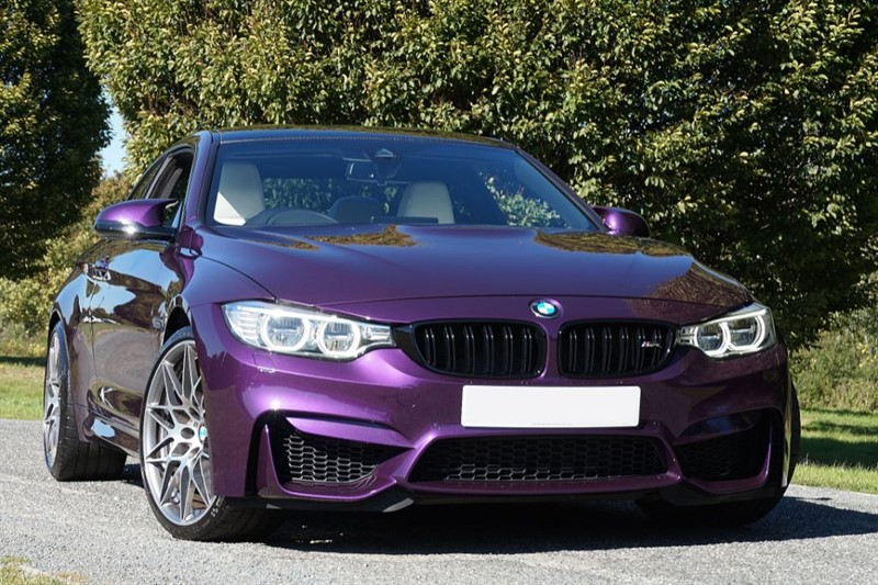 used BMW M4 COMPETITION PACKAGE ** INDIVIDUAL TWILIGHT PURPLE & WHITE NAPPA ** in essex