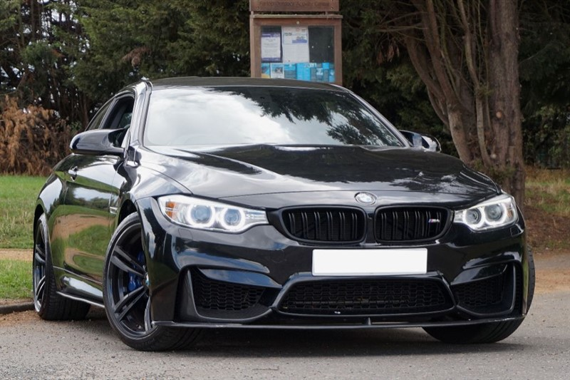 used BMW M4 ** BMW SERVICE PACK & WARRANTY ** TRIPLE BLACK ** in essex