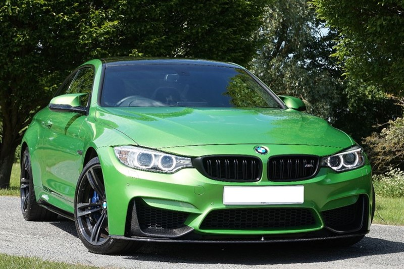 used BMW M4 ** INDIVIDUAL JAVA GREEN ** in essex