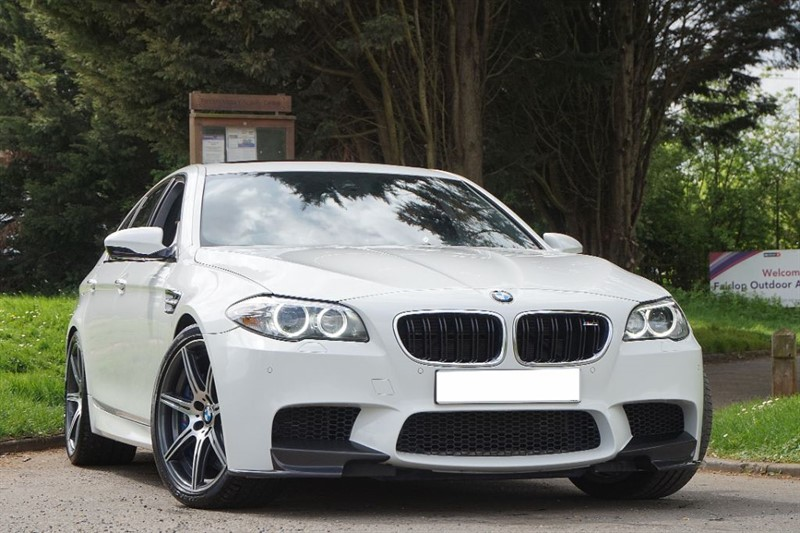 used BMW M5 ** COMPETITION PACK ** RED LEATHER ** SERVICE PACK ** in essex