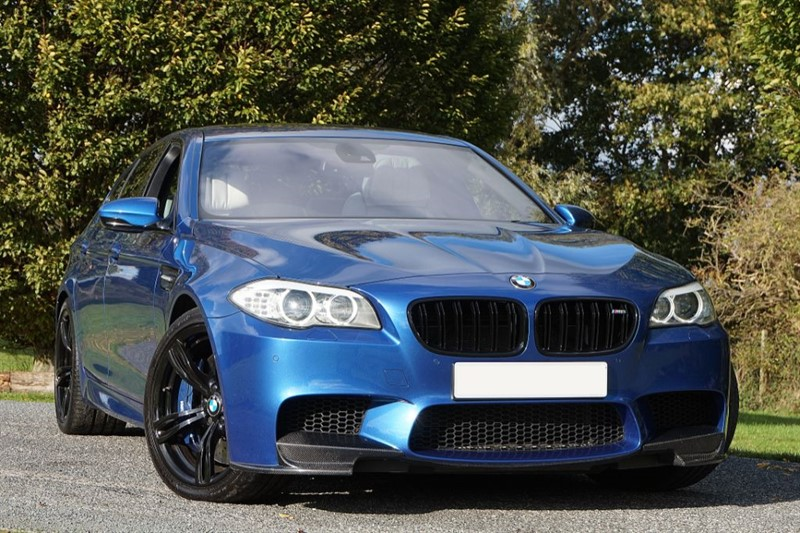 used BMW M5 ** COMFORT SEATS ** SILVERSTONE UPHOLSTERY ** in essex