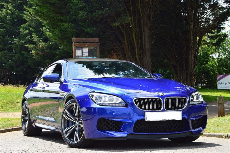 used BMW M6 GRAN COUPE ** INDIVIDUAL ** SILVERSTONE NAPPA ** in essex