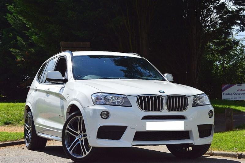 """used BMW X3 XDRIVE30D M SPORT ** 20"""" ALLOYS ** in essex"""