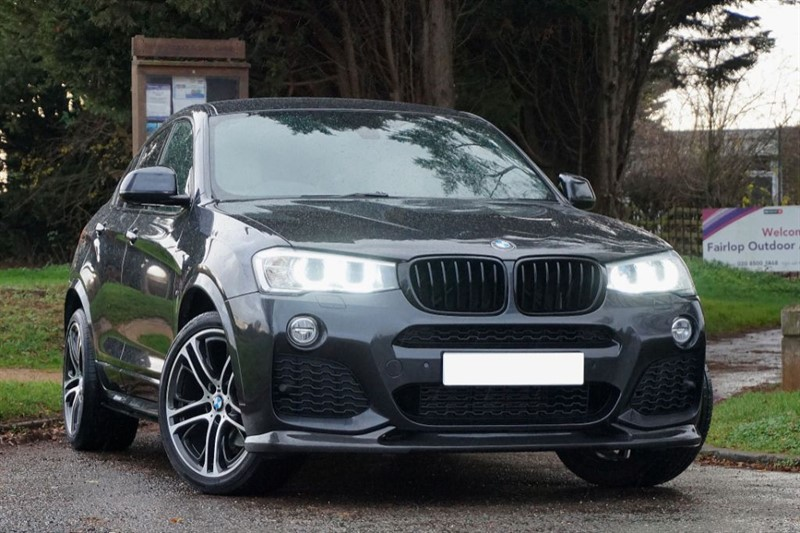used BMW X4  XDRIVE20D M SPORT ** CUSTOM BODY KIT ** PRO NAV ** in essex