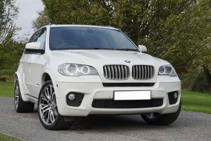"""used BMW X5 40D M SPORT ** HEAD UP ** 7 SEATS ** 21"""" WHEELS ** EVERY OPTION ** in essex"""