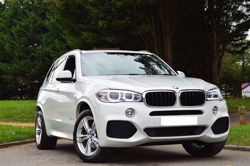 used BMW X5 SDRIVE25D M SPORT ** 7 SEATS ** INDIVIDUAL MOCHA LEATHER ** in essex