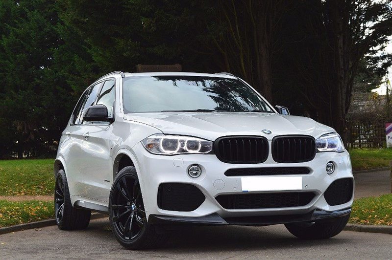 used BMW X5 XDRIVE30D M SPORT ** 7 SEATS ** PAN ROOF ** CARBON KIT ** in essex