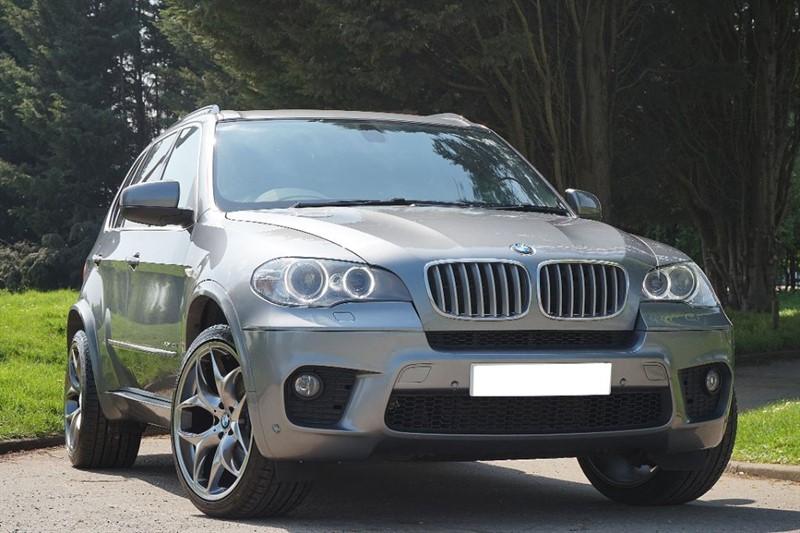 """used BMW X5 XDRIVE40D M SPORT ** 7 SEATS & 21"""" ALLOYS ** in essex"""
