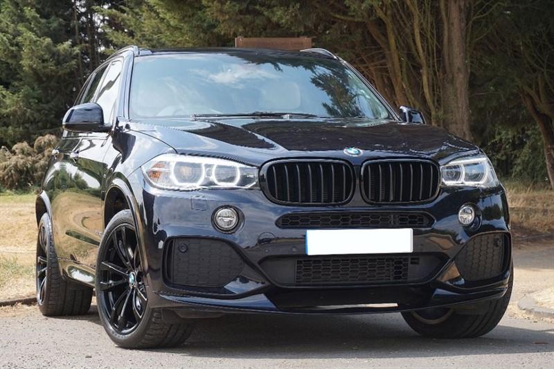"""used BMW X5 XDRIVE30D M SPORT ** 20"""" ALLOYS & M PERFORMANCE KIT ** in essex"""