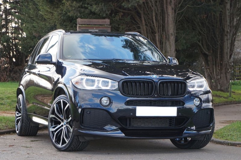 used BMW X5 XDRIVE40D M SPORT ** 7 SEATS + PAN ROOF  + HK HI FI ** in essex