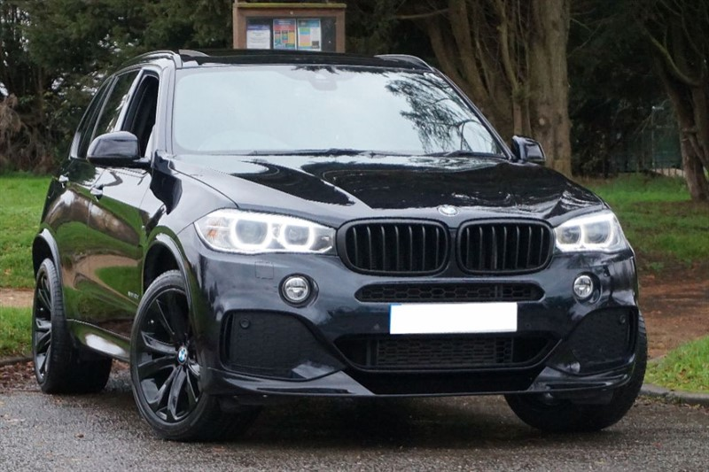 used BMW X5 XDRIVE40D M SPORT ** ONLY 19K MILES ** PAN ROOF & 7 SEATS ** in essex