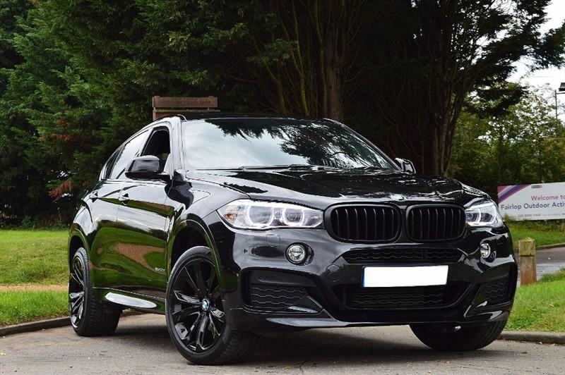 used BMW X6 XDRIVE30D M SPORT ** TRIPLE BLACK ** PERFORMANCE KIT ** in essex