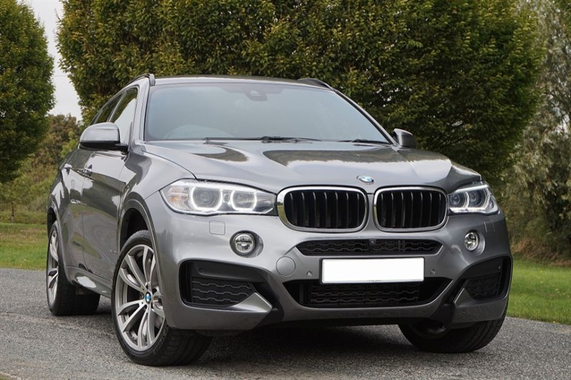 used BMW X6 XDRIVE30D M SPORT ** DIGITAL DASH & SURROUND VIEW **  in essex