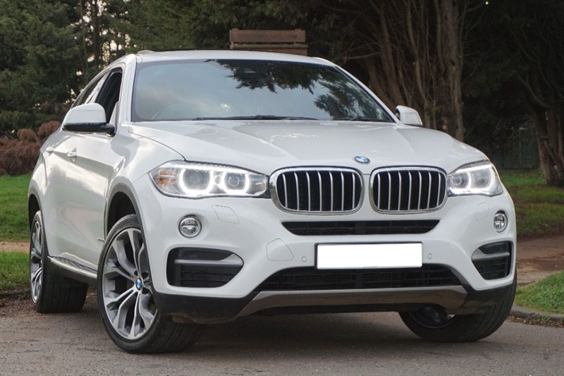 used BMW X6 XDRIVE40D SE ** RED LEATHER & SUNROOF ** in essex