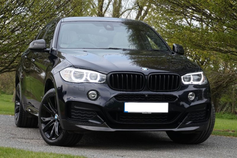 used BMW X6 XDRIVE40D M SPORT ** OVER £16000 OPTIONS ** THE ULTIMATE SPEC ** in essex