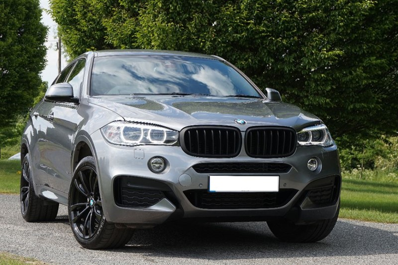 used BMW X6 XDRIVE30D M SPORT ** ONLY 16000 MILES ** BLACK PACK ** in essex