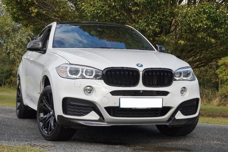 used BMW X6 XDRIVE40D M SPORT ** HEAD UP + SUN ROOF + RED LEATHER ** in essex