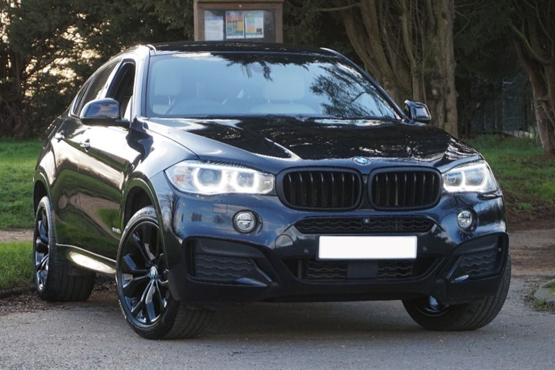 used BMW X6 XDRIVE30D M SPORT ** SURROUND VIEW CAMERAS ** LOW MILES ** in essex