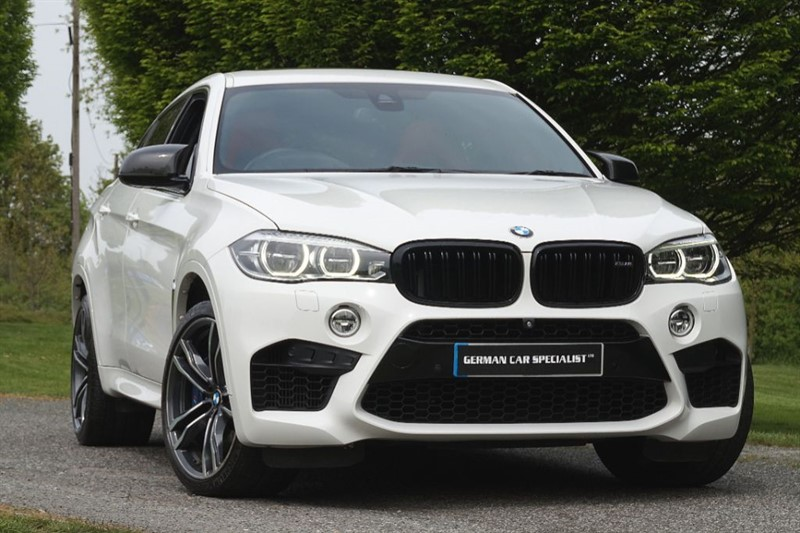 used BMW X6 M ** RED LEATHER ** LAUNCH SPEC CAR / EVERY OPTION ** in essex