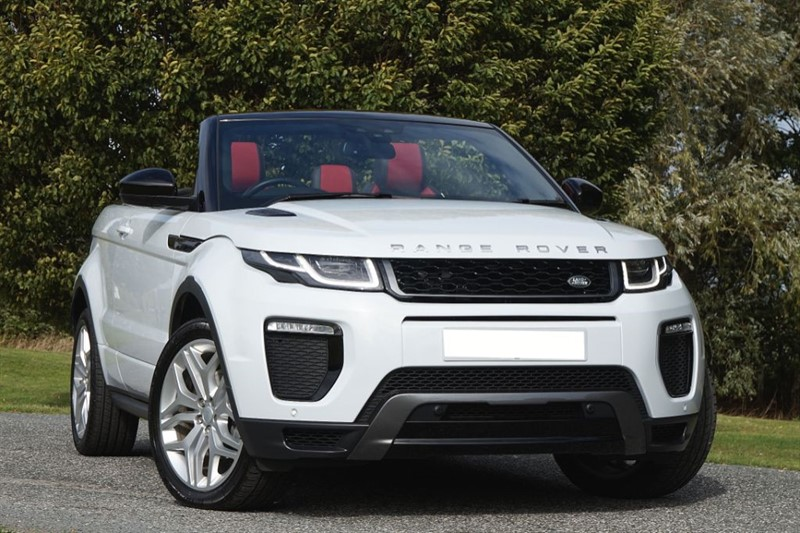 used Land Rover Range Rover Evoque TD4 HSE DYNAMIC ** BLACK & RED LEATHER **  in essex