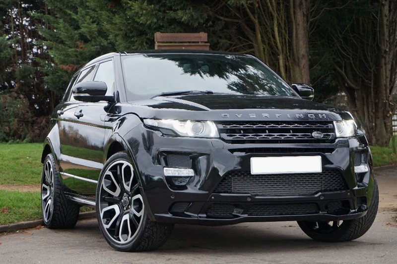 used Land Rover Range Rover Evoque SD4 DYNAMIC LUX ** FACTORY OVERFINCH ** PAN ROOF ** in essex
