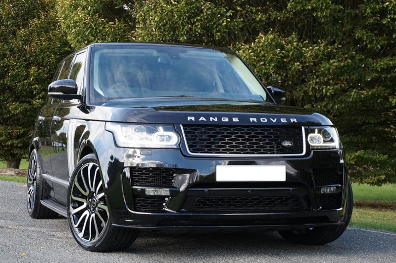 used Land Rover Range Rover SDV8 VOGUE SE ** 2017 SVO CONVERSION ** SPECIAL ORDER PAINT ** in essex