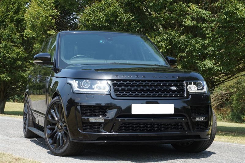 used Land Rover Range Rover TDV6 AUTOBIOGRAPHY ** DEPLOY-ABLE STEPS ** 2017 SVO STYLING ** in essex