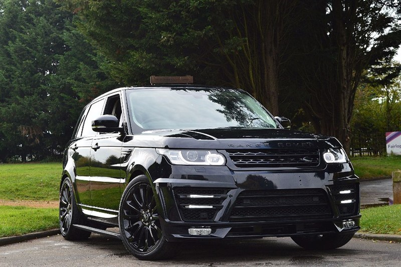 used Land Rover Range Rover Sport SDV6 HSE ** LUMMA BODY KIT ** PAN ROOF ** in essex