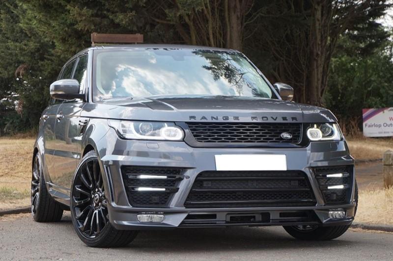 used Land Rover Range Rover Sport SDV6 HSE ** LUMMA BODY KIT ** in essex