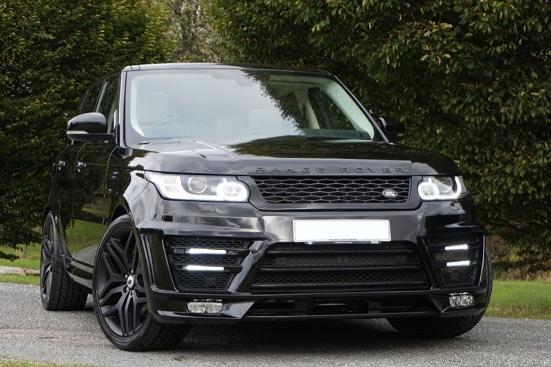 used Land Rover Range Rover Sport SDV6 HSE ** 1 OWNER ** PAN ROOF ** LUMMA STYLING ** in essex