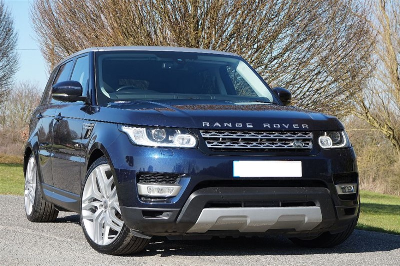 "used Land Rover Range Rover Sport SDV6 HSE ** 22"" AUTOBIOGRAPHY ALLOYS ** INDUS SILVER ROOF ** in essex"