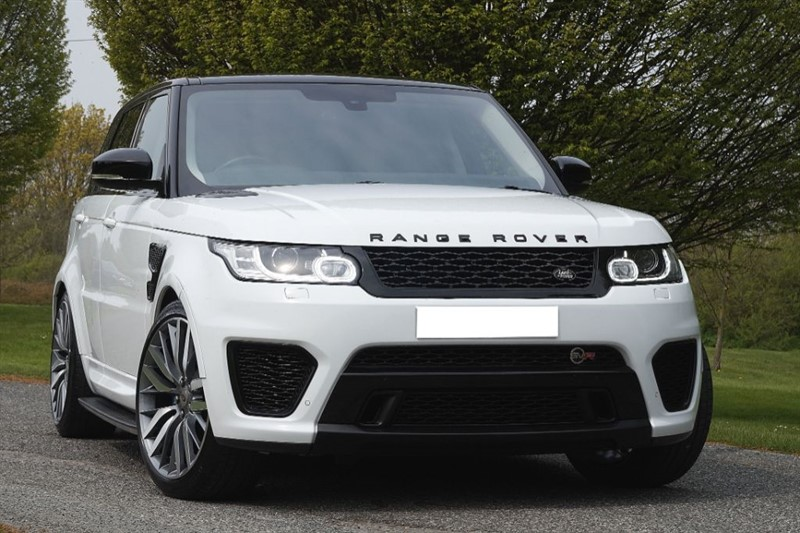 used Land Rover Range Rover Sport SDV6 HSE ** SVR BODY KIT ** REAR ENTERTAINMENT ** in essex