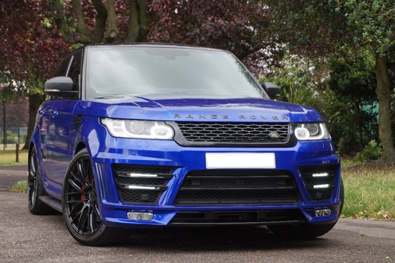 used Land Rover Range Rover Sport SDV6 HSE ** 7 SEATS & PAN ROOF ** LUMMA STYLING ** in essex
