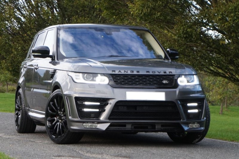 used Land Rover Range Rover Sport SDV6 AUTOBIOGRAPHY DYNAMIC ** 7 SEATS + PAN ROOF + LUMMA ** in essex